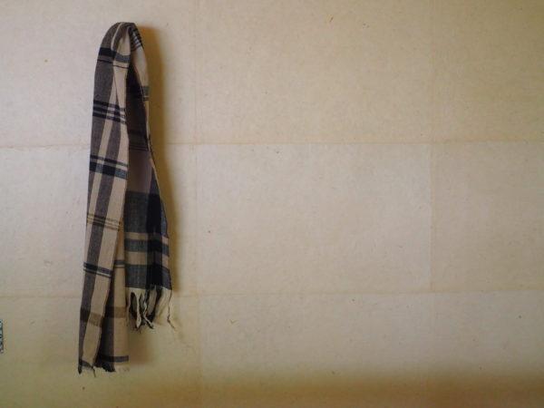 手紡木綿のストール